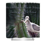 Love Doves Shower Curtain