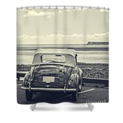 Down By The Shore Shower Curtain