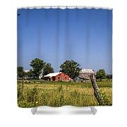 Down Home Amish Farm Shower Curtain