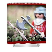 Down In The Woods Shower Curtain