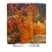 Down Into Bryce Shower Curtain by Jeff Swan