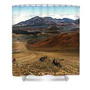 Down Into The Creator Shower Curtain