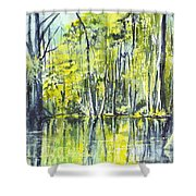 Down On The Bayou Shower Curtain