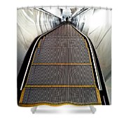 Down Perspective Shower Curtain