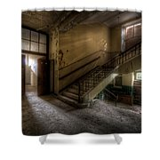 Down Stairs Ward Shower Curtain