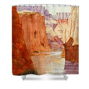 Down The Canyon - Day Two Shower Curtain