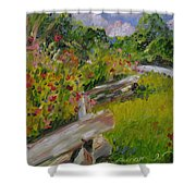 Down The Natchez Trace Shower Curtain