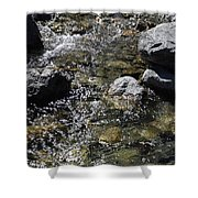 Down The River Shower Curtain