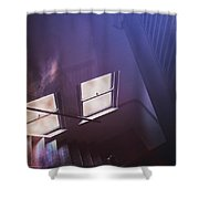 Down The Stairs Shower Curtain