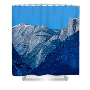 Down The Valley Yosemite Shower Curtain