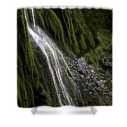 Down The Wall Shower Curtain