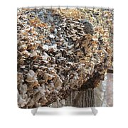 Down Tree Shower Curtain
