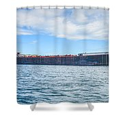 Downbound At Mission Point 2 Shower Curtain
