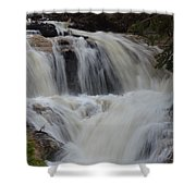 Downhill Shower Curtain