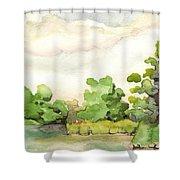 Downriver Napanee Shower Curtain