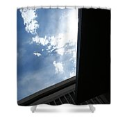 Downtown Abstract Shower Curtain