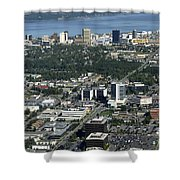 Downtown Anchorage Alaska Shower Curtain