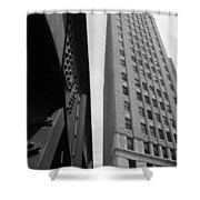 Downtown Architecture Shower Curtain