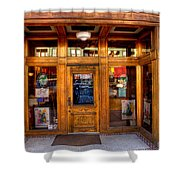 Downtown Athletic Club - Prescott Arizona Shower Curtain by David Patterson