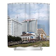 Downtown Atlantic City New Jersey Shower Curtain
