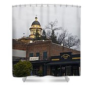 Downtown Auburn California Shower Curtain