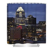 Downtown Austin 3 Shower Curtain