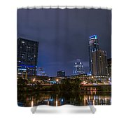 Downtown Austin Shower Curtain
