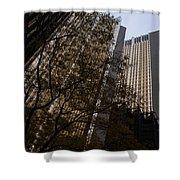 Downtown Autumn Shower Curtain