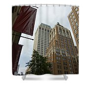Downtown Canyon Shower Curtain