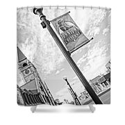 Downtown Cheyenne Shower Curtain