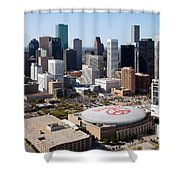 Downtown Houston Shower Curtain
