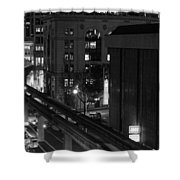 Downtown In Seattle Shower Curtain