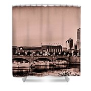 Downtown Indianapolis Shower Curtain
