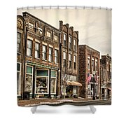 Downtown Jonesborough Shower Curtain
