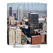 Downtown Louisville Kentucky Shower Curtain