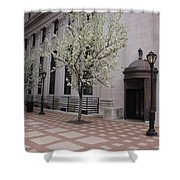 Downtown New Haven Connecticut Shower Curtain