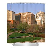 Downtown Omaha Ne Shower Curtain