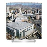 Downtown Salt Lake City Shower Curtain