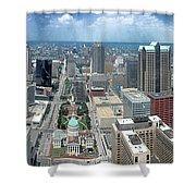 Downtown St. Louis Shower Curtain