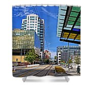 Downtown Tacoma Hdr Shower Curtain