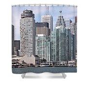 Downtown Toronto Ontario Shower Curtain