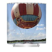 Downtown Transport Shower Curtain