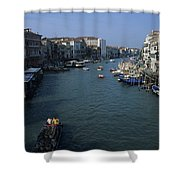 Downtown Venice Shower Curtain
