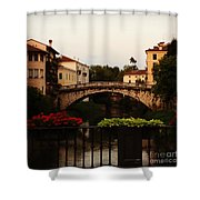 Downtown Vicenza Shower Curtain