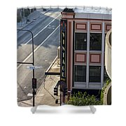 Downtown Vintage Shower Curtain