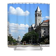 Downtown Washington Shower Curtain