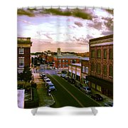 Downtown Washington Nc Shower Curtain