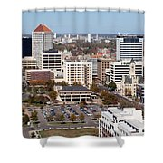 Downtown Wichita Shower Curtain