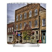 Dowtown General Store Shower Curtain
