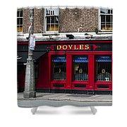 Doyles The Times We Live Inn - Dublin Ireland Shower Curtain